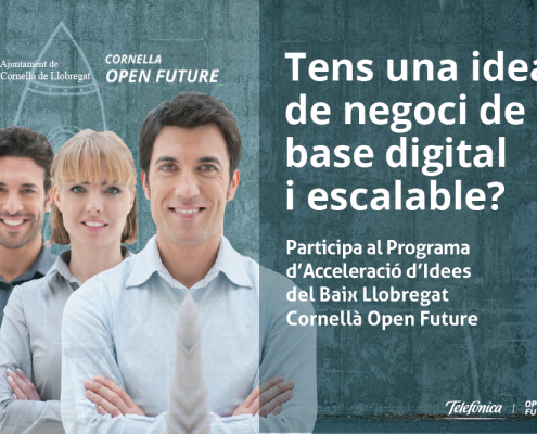 Convocatòria oberta: CORNELLÀ OPEN FUTURE 18/19