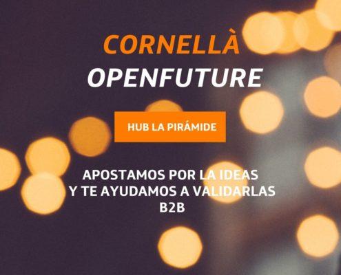 Nueva Convocatoria del programa Cornellà OPEN FUTURE abierta