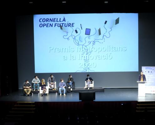 Premis Metropolitans a la Innovació atorgats ahir al vespre en el marc del programa d'acceleració Cornellà Open Future