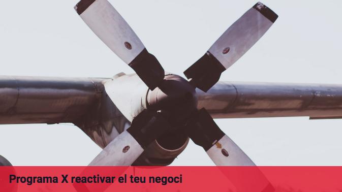 PROGRAMA X REACTIVAR EL TEU NEGOCI - Escola de negocis EADA