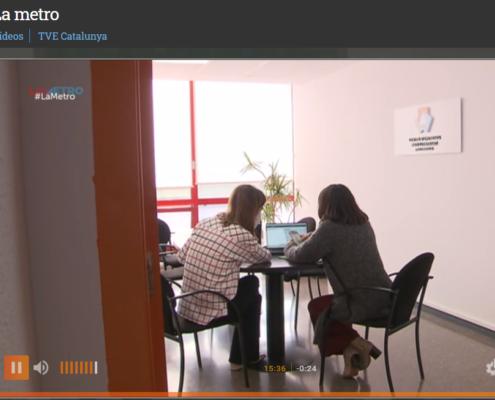 El Centre d'Empreses al programa La Metro de La 2 de TVE